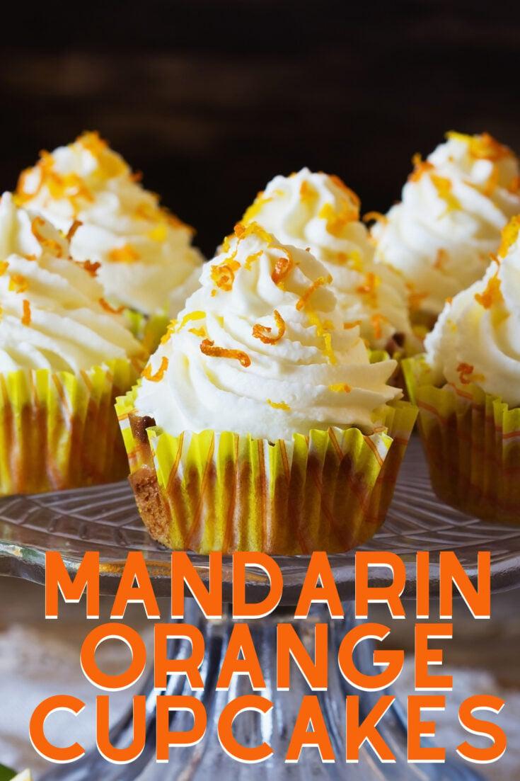 Mandarin Orange CupcakesH