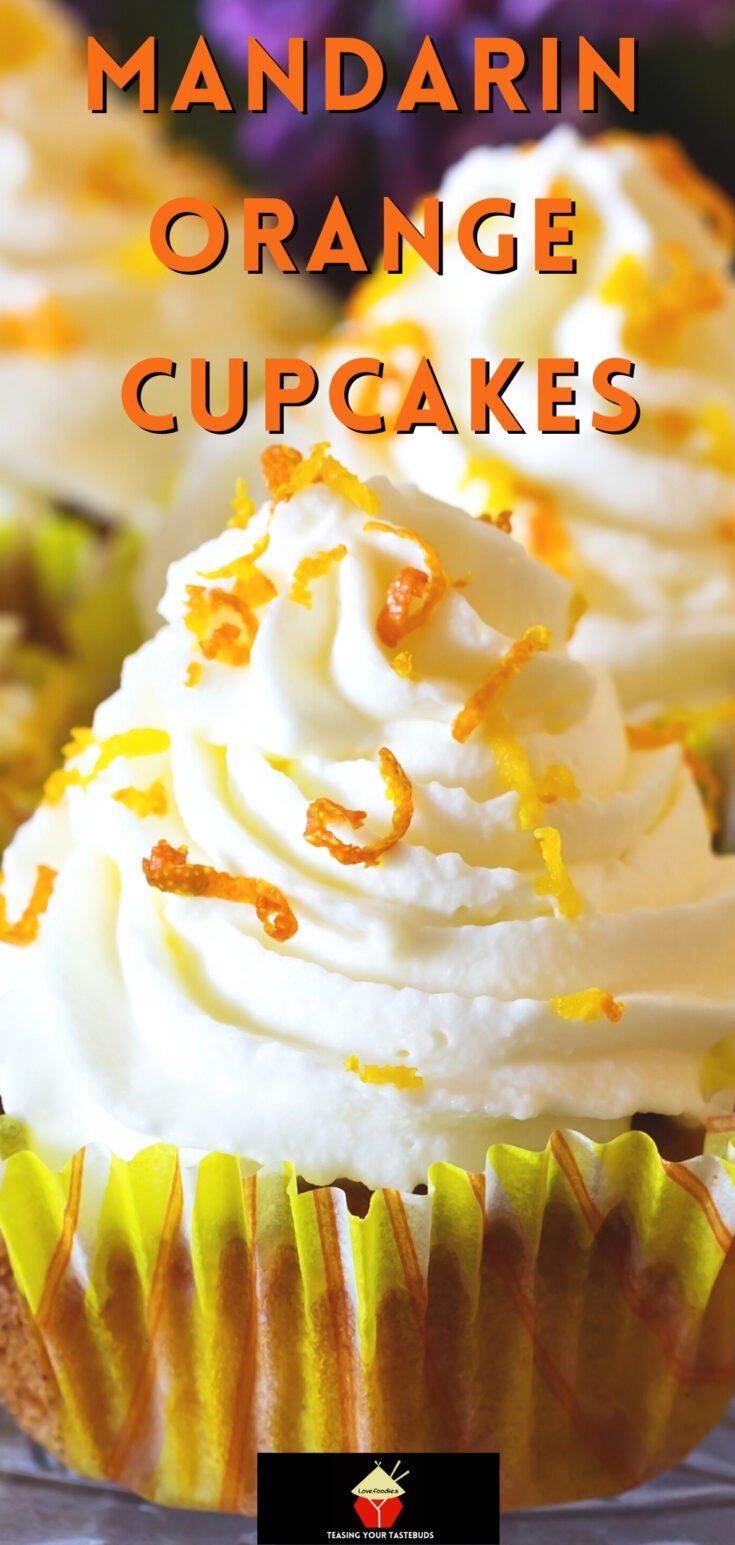 Mandarin Orange CupcakesP2