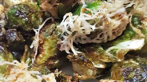 Best Ever Crispy Air Fryer Brussels Sprouts