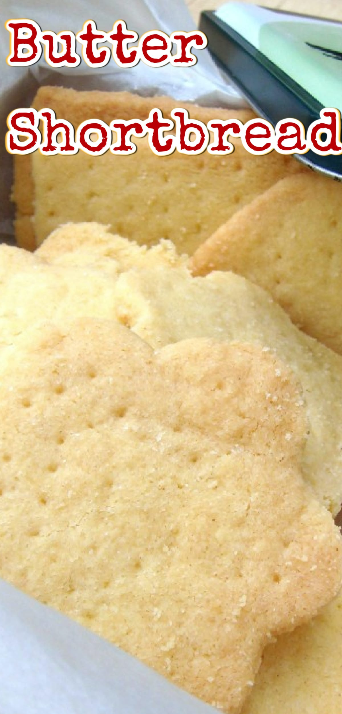 Butter Shortbread simply a delight to eat! The dough is so easy to make and uses simple ingredients. These are a traditional cookie and melt in your mouth!