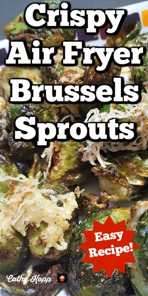 Crispy Air Fryer Brussels Sprouts. A delicious simple, quick and easy recipe with great flavors. Uses minimal oil, super crispy on the outside and tender on the inside.