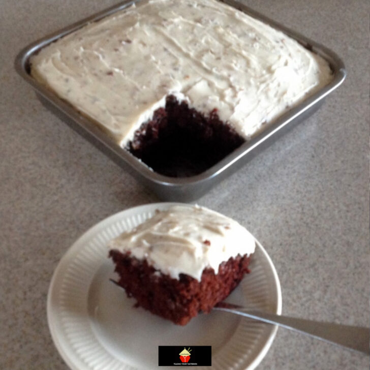 Egg Free Chocolate Wacky Cake. This is a very quick and easy EGG FREE chocolate cake, super moist and always very popular. Great for parties and recipe options for frosting too