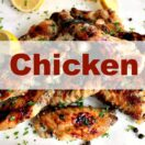 Chicken recipes, a selection of delicious chicken recipes suitable for appetizers, main meals, party food
