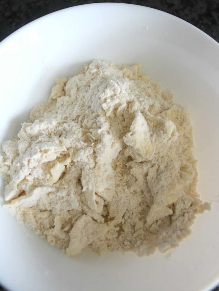 Consistency of streusel topping
