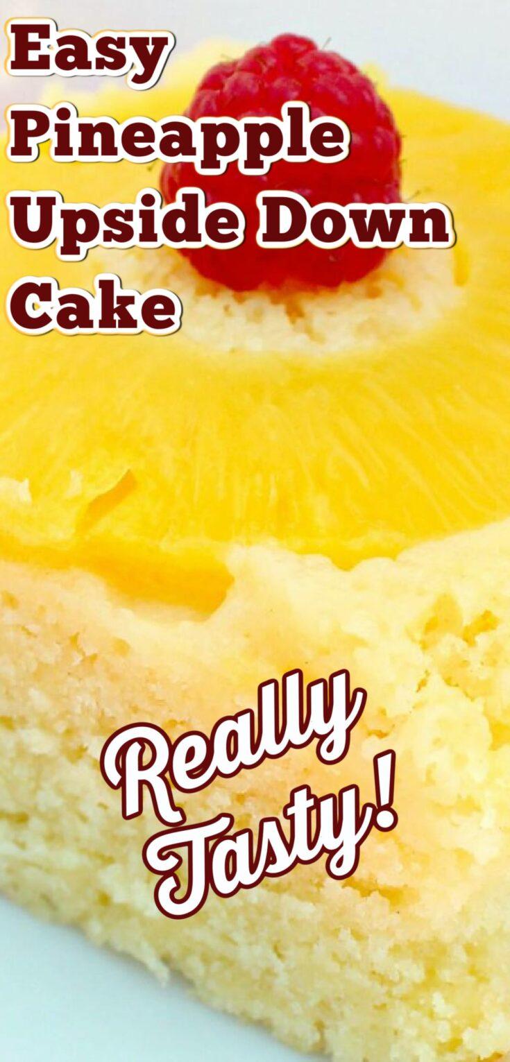 Easy Pineapple Upside Down CakeP1