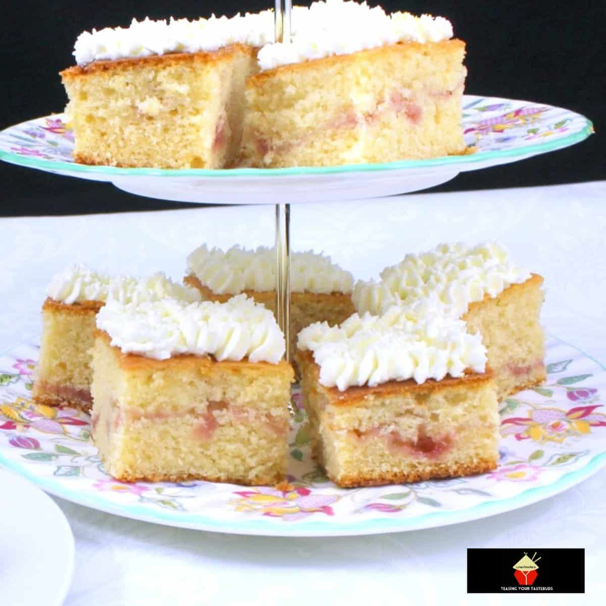 Lemon Drizzle Raspberry Ripple CakeF