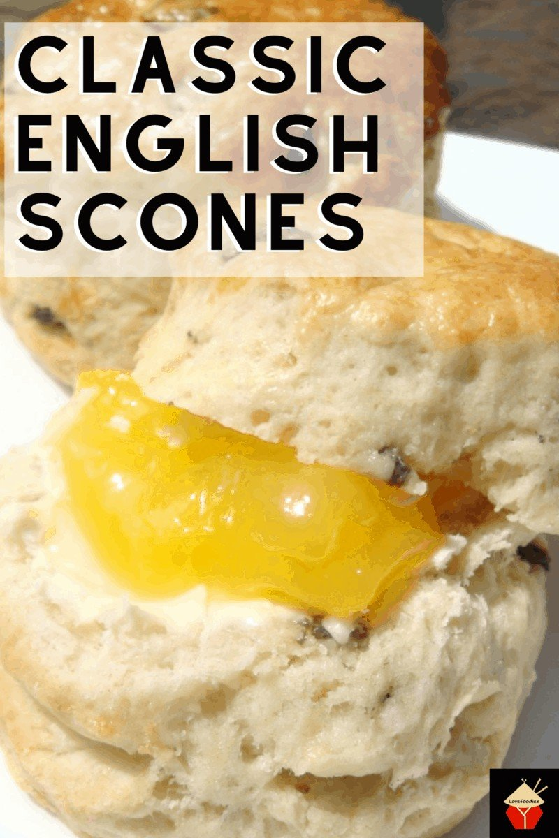 Classic English Scones. Quick and Easy to make moist, light, and fluffy! Step by step instructions to make perfect scones. Serve for High Tea or Afternoon Tea