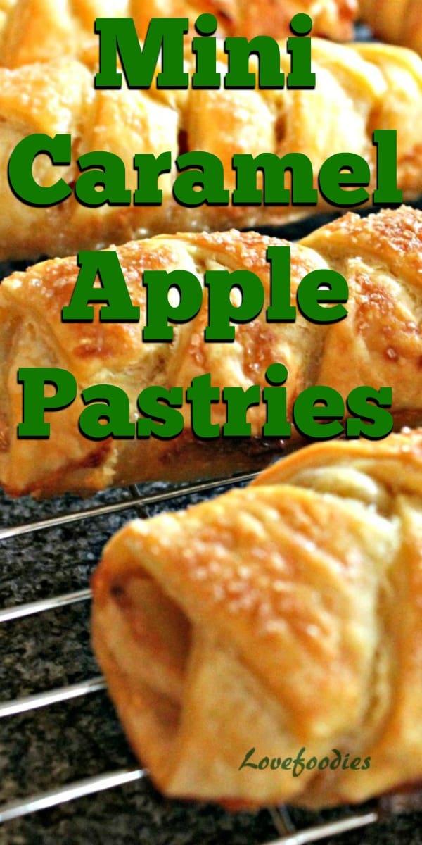 Mini Caramel Apple PastriesP1