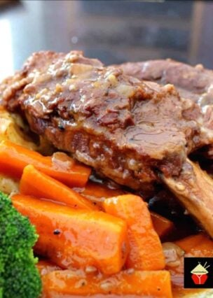Best Ever Slow Cooker Beef Ribs. Fall off the bone, tender ribs of beef slow-cooked in a delicious sauce and simply melts in your mouth. The flavor is amazing! Option to use a pressure cooker or multi-cooker too.