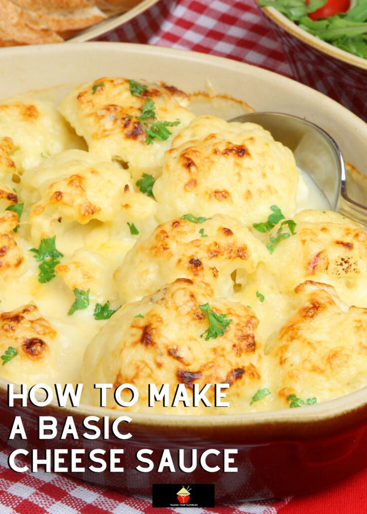 How To Make A Basic Cheese SauceH