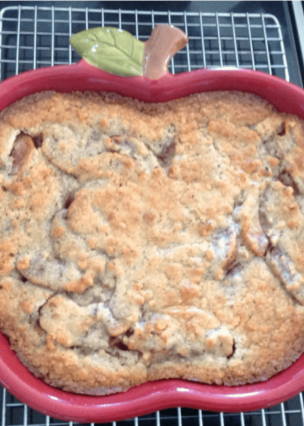 Nanny Pat's Special Apple Pie This apple pie is an old family recipe and always very popular, especially for those who prefer a crustless pie!