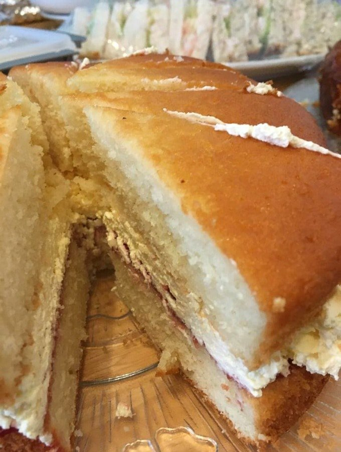 Classic Victoria Sponge Cake. Easy recipe for how to make a classic Victoria sponge Cake, a popular British cake, traditionally eaten at afternoon tea.