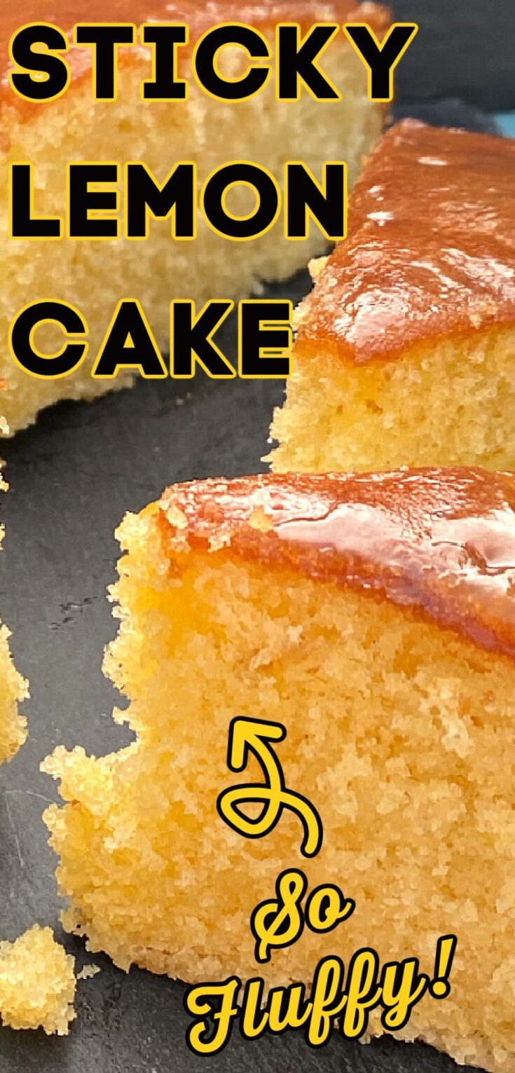 Sticky Lemon CakeP3