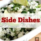 A selection of delicious side dishes suitable for lunch, dinner and celebrations