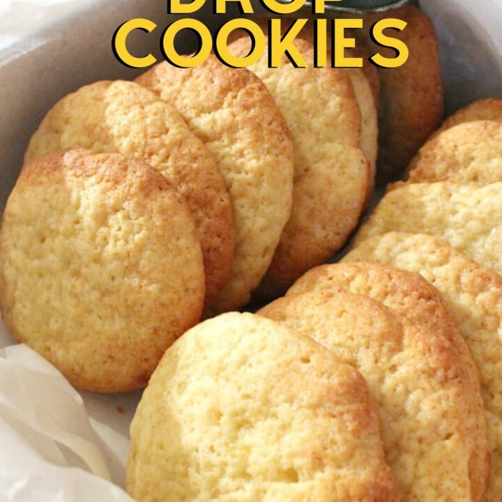 Banana Drop Cookies. These are a light fluffy cookie and great for using up those overripe bananas! Easy recipe too! Perfect for Christmas