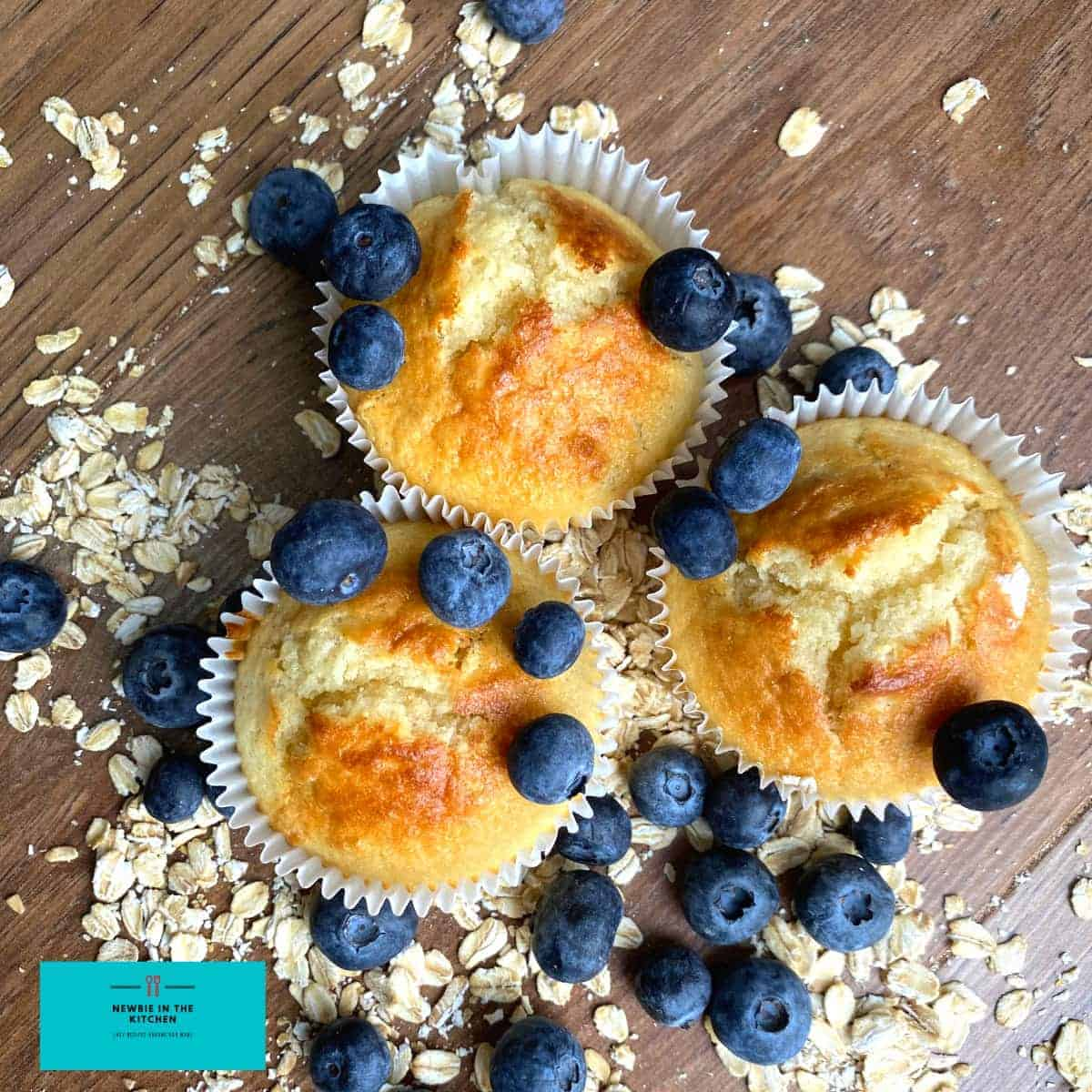 Blueberry Oatmeal MuffinsF1