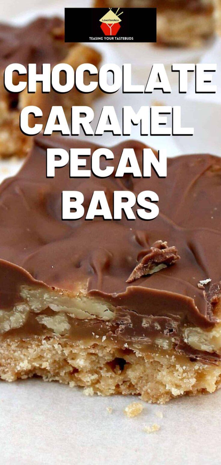 Chocolate Caramel Pecan BarsP1