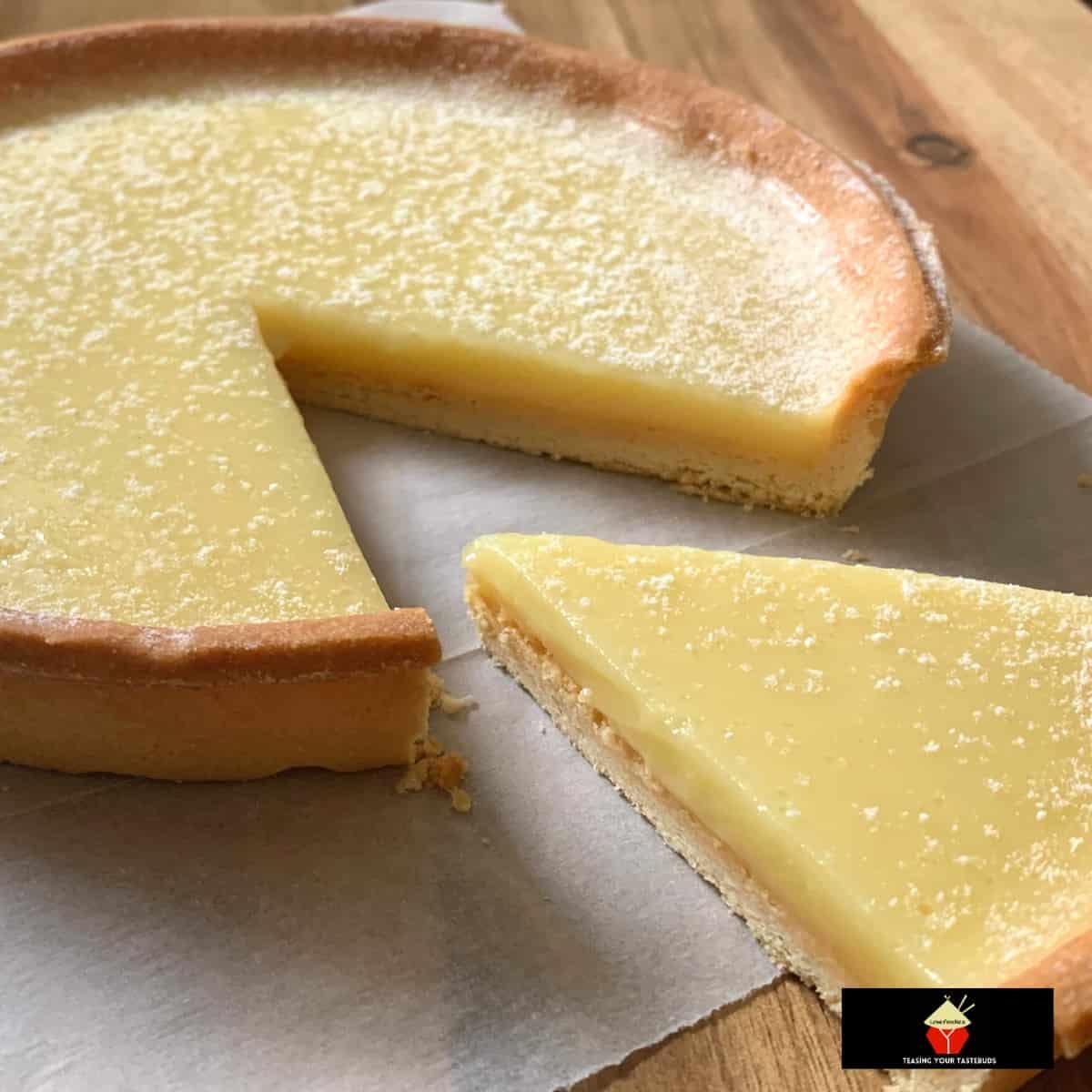 Classic Lemon Tart Tarte Au CitronF