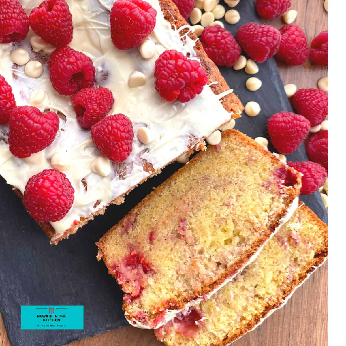 Simple Raspberry Pound CakeF