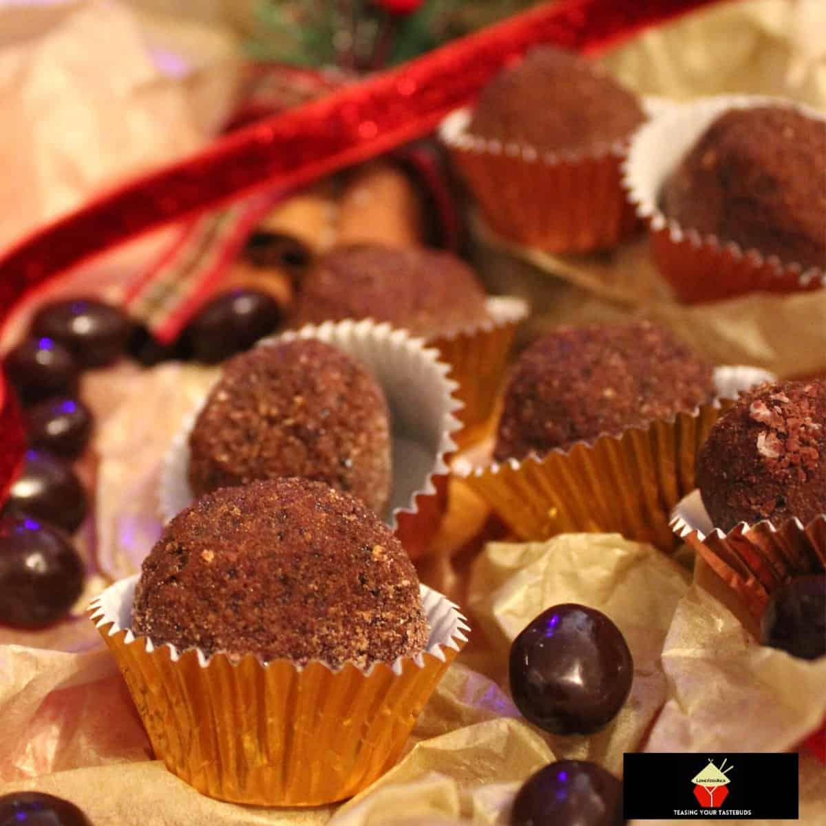 Cappuccino Chocolate TrufflesF
