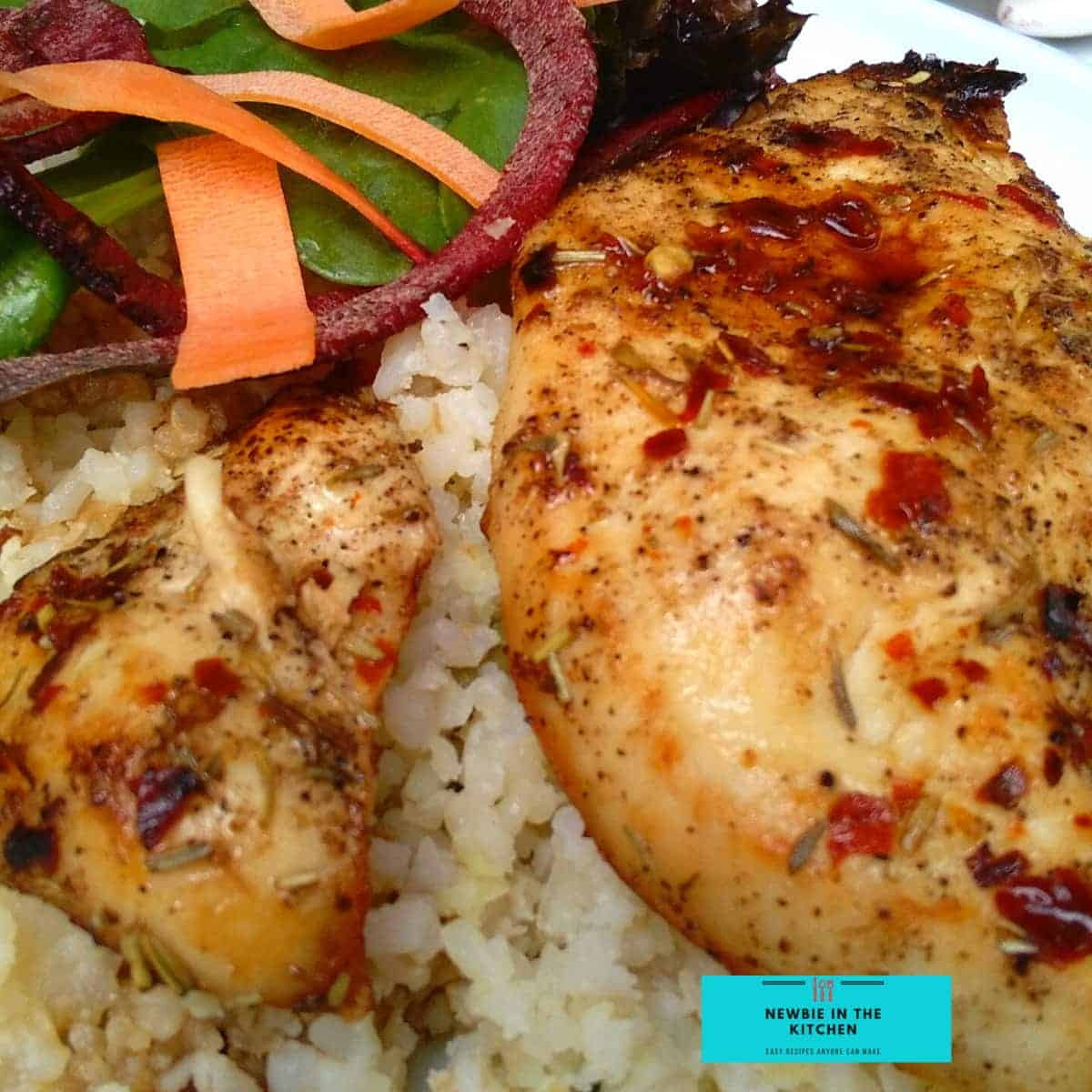 Tender Oven Baked Juicy Chicken BreastF