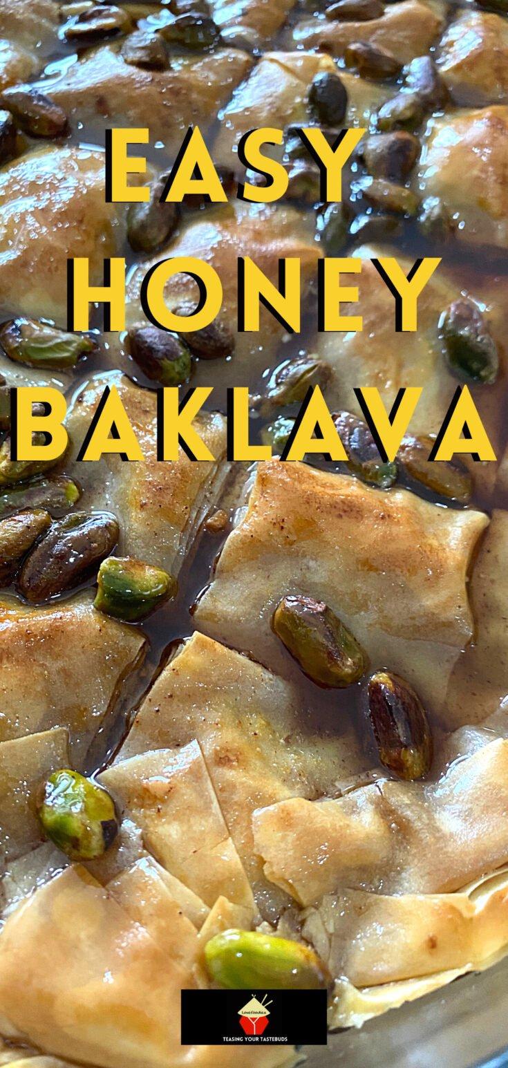 Easy Honey BaklavaP1