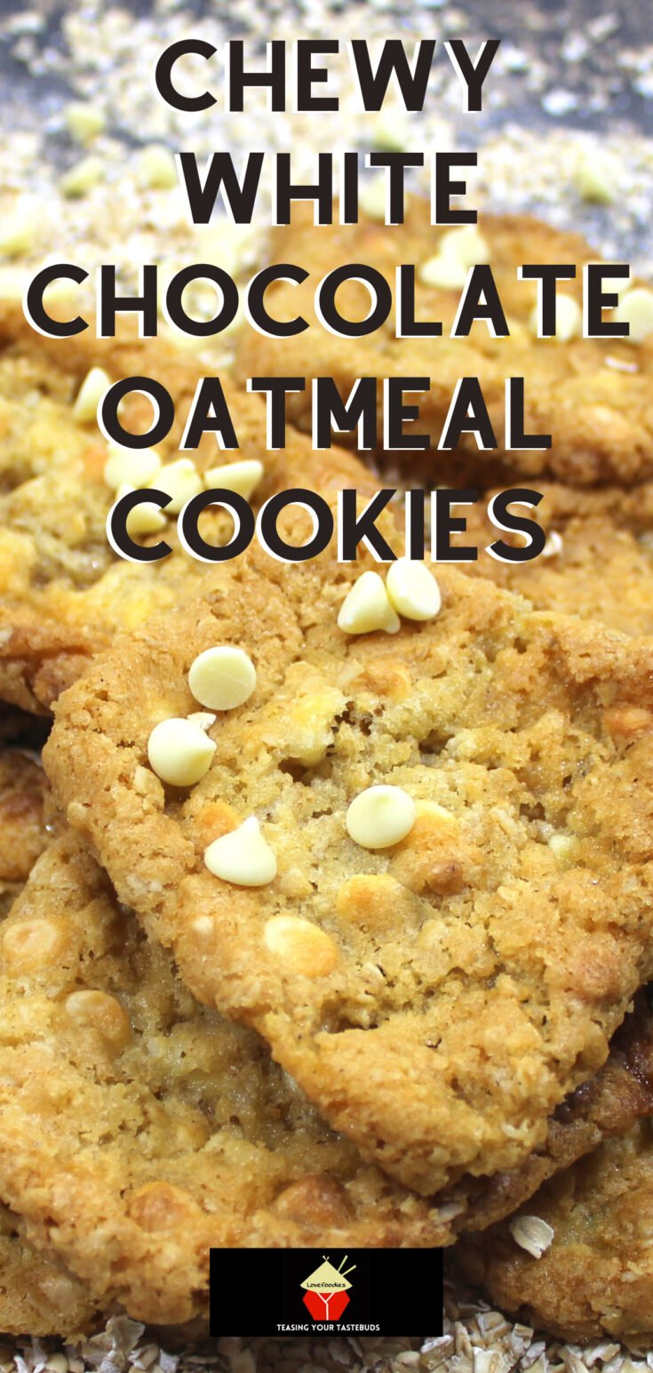 Chewy White Chocolate Oatmeal CookiesP2