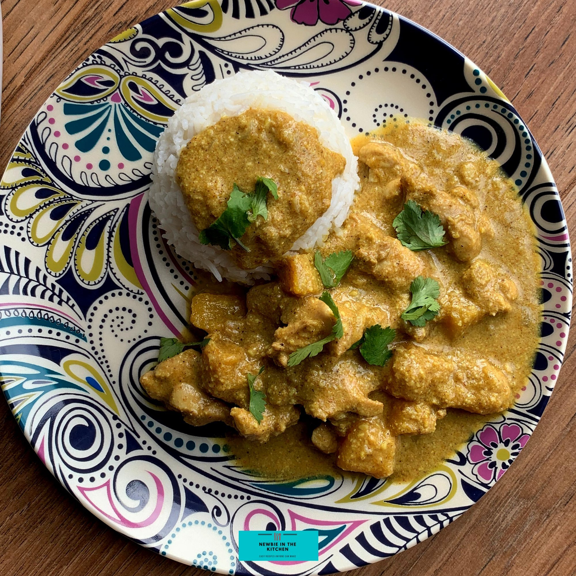 Creamy Coconut Chicken CurryF 1