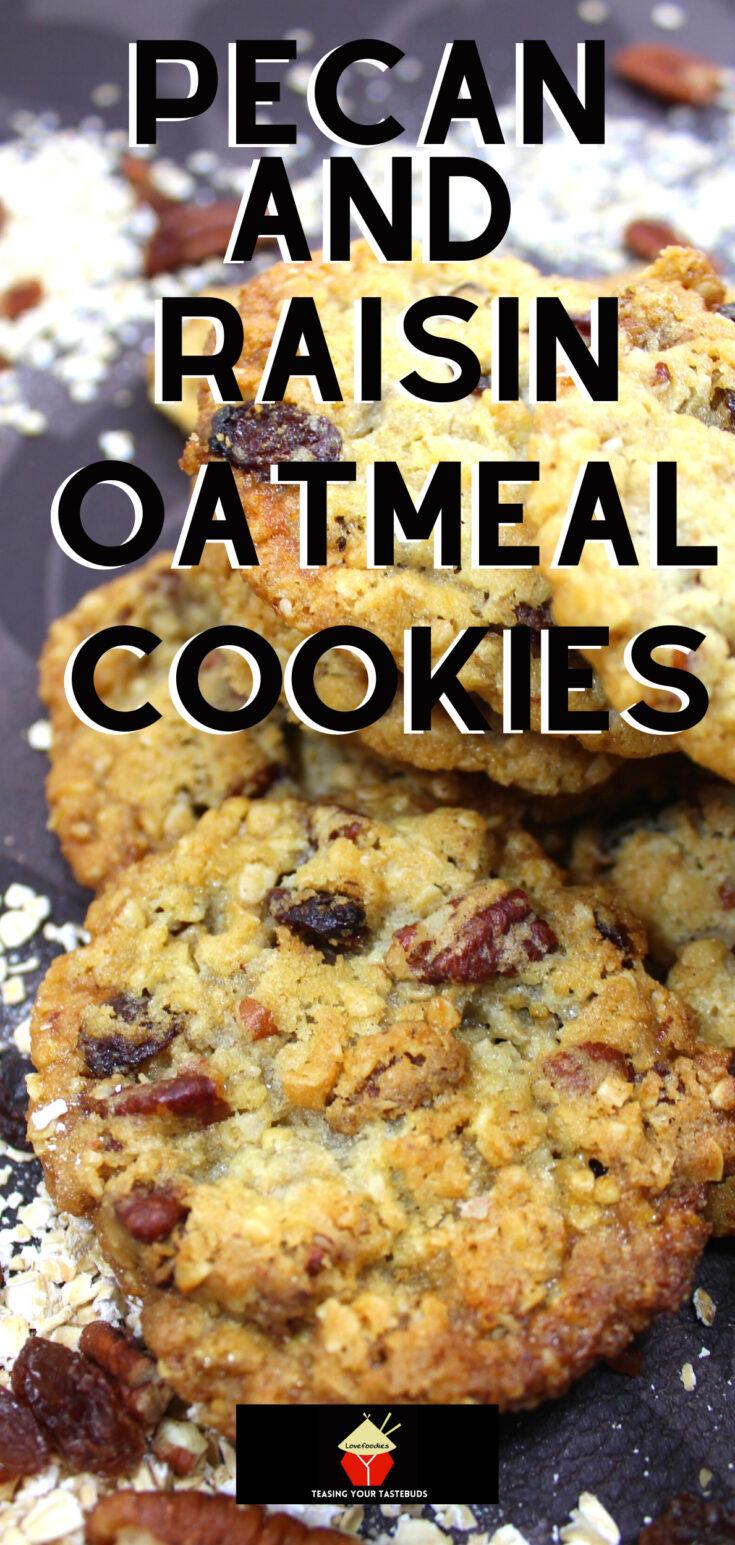 Pecan and Raisin Oatmeal CookiesP2