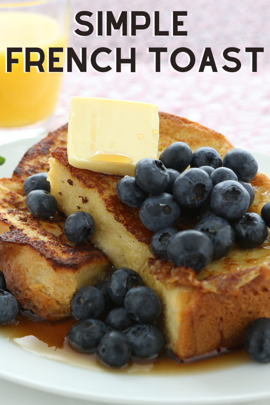 """French Toast, A.K.A 'Eggy Bread"""" is soft bread, soaked in beaten egg and pan-fried in butter. Serve for breakfast or brunch with a selection of berries and a drizzle of honey"""