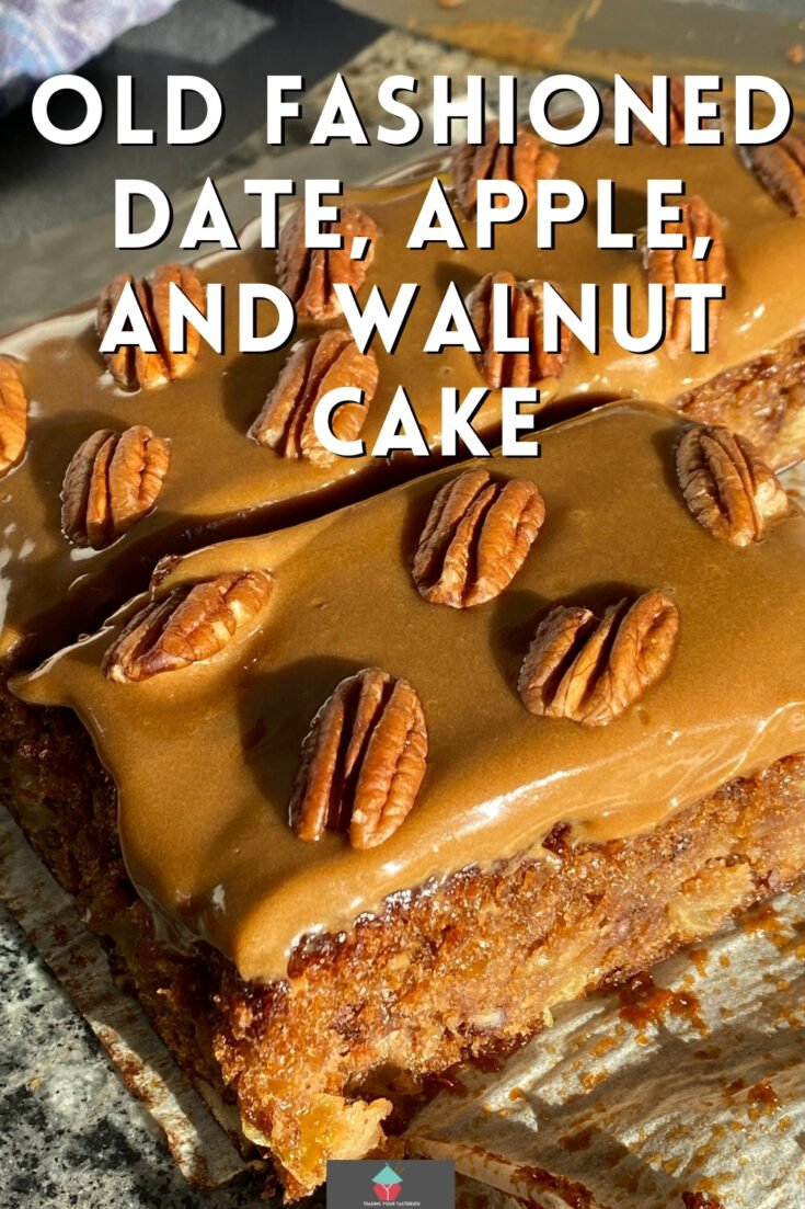 Old Fashioned Date Apple and Walnut CakeP1