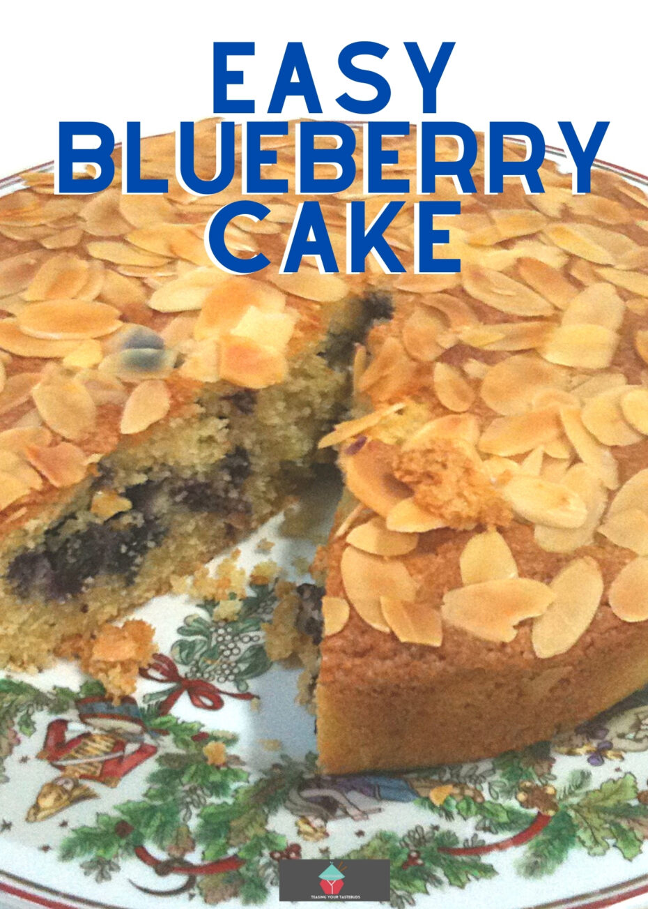 Easy Blueberry CakeH